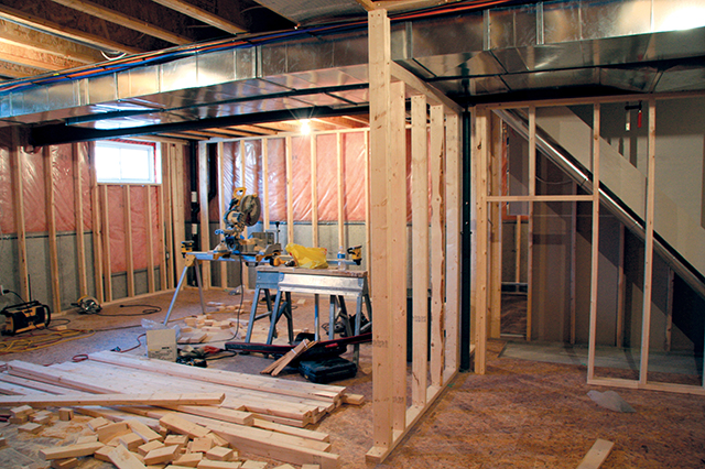 Tips for a finished basement your aaa network - Tips for finishing a basement ...