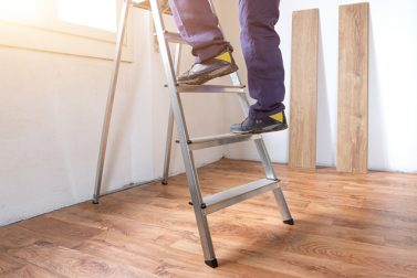 Safety Steps for Using a Ladder