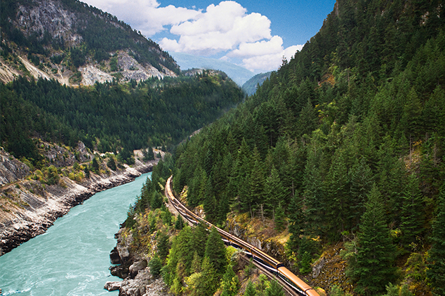Train Travel Across The Globe Provides A Scenic Vacation