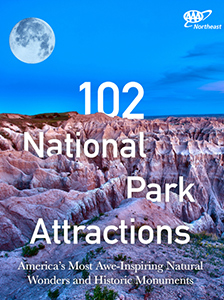 102 National Park Attractions: America's Most Awe-Inspiring Natural Wonders and Historic Monuments