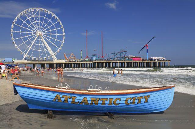 new jersey beaches. Atlantic City.