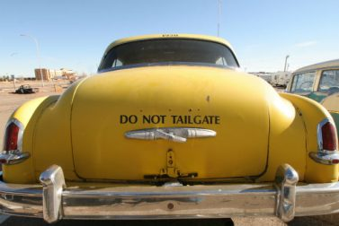The Rules of Dealing With a Tailgater