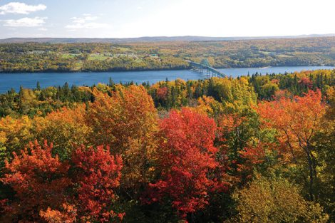 Fall en Route to Canada's Maritime Provinces