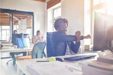 De-Stress at Your Desk
