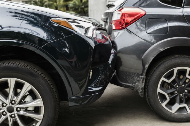 what happens if you crash your rental car