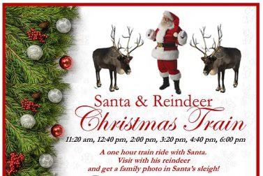 Santa & Reindeer Christmas Train Ride