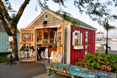 Hyannis HyArts Artist Shanties-Two Locations