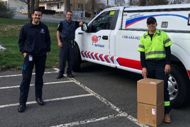AAA Northeast Delivers Food and Supplies During COVID-19 Crisis