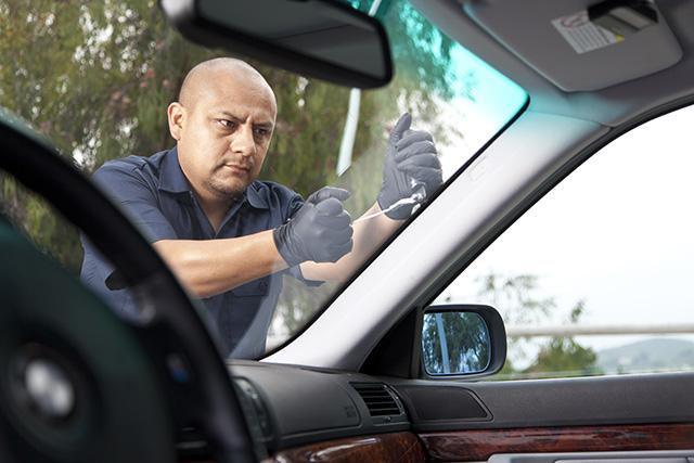 windshield chip crack