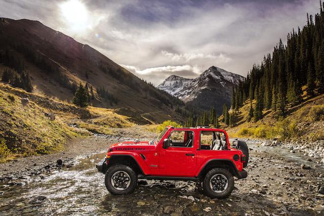 best convertibles - Jeep Wrangler