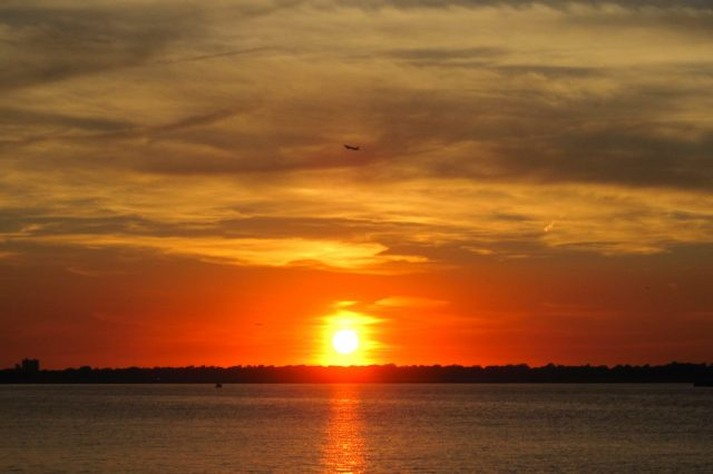 reynolds channel sunset