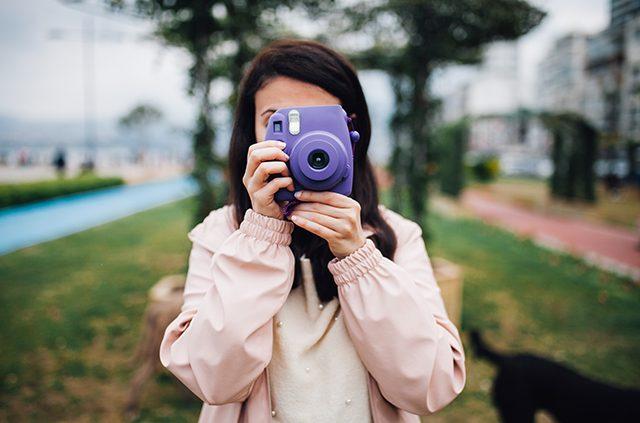 instant print photo camera