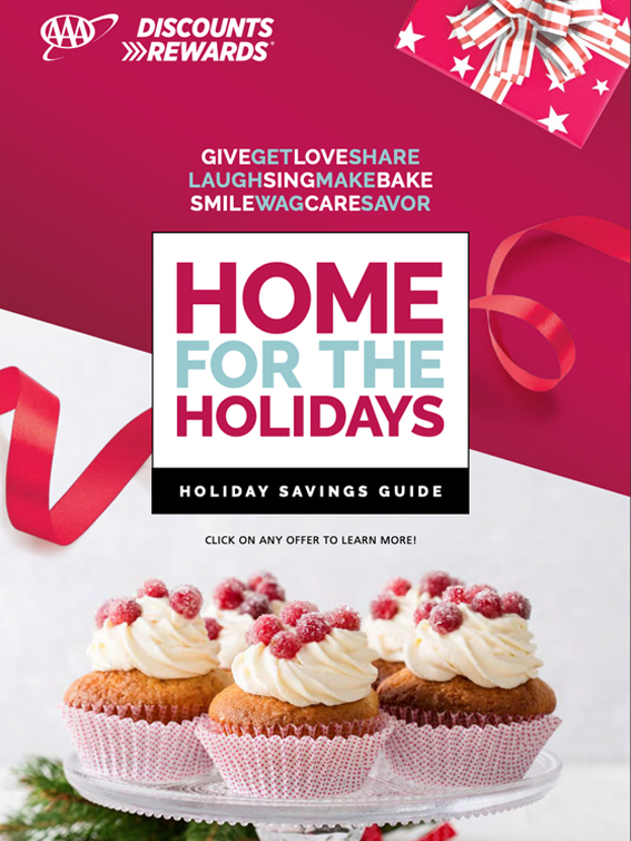 Home for the Holidays: Holiday Savings Guide