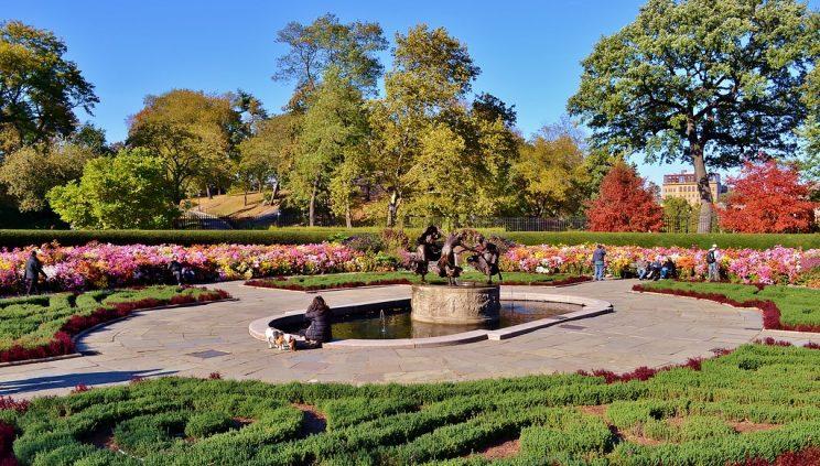 northeast botanical gardens