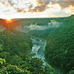 Letchworth State Park - scenic locations